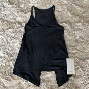 Brand new lululemon open ends tank